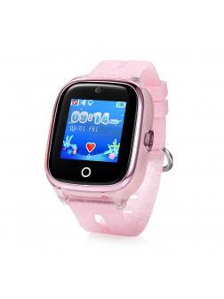 Детские часы с GPS Smart Baby Watch KT01 / Розовый