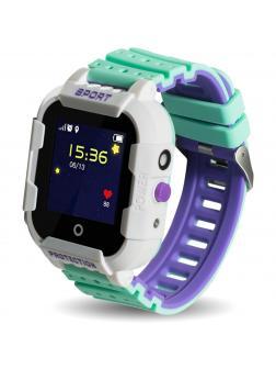 Детские часы с GPS Smart Baby Watch «Sport» KT03 / Белый