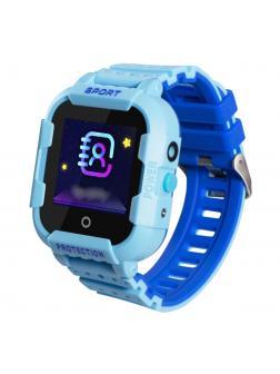 Детские часы с GPS Smart Baby Watch «Sport» KT03 / Голубой