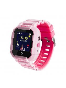 Детские часы с GPS Smart Baby Watch «Sport» KT03 / Розовый