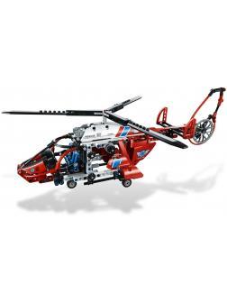 Конструктор DECOOL «Спасательный вертолет» 3355 (Technic 8068) 407 деталей