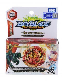 Волчок BEYBLADE Хранитель Кербеус (Booster Guardian Kerbeus.H.R Red ver BA02) BA-02 от Takara Tomy