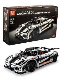 Конструктор Mould King «Спорткар Koenigsegg One:1» 13120 / 3063 детали