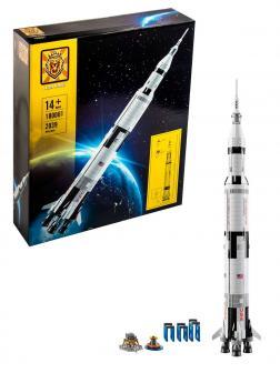 Конструктор Lion King «Ракетно-космическая система НАСА Сатурн-5-Аполлон» 180001 (Ideas 21309) 2039 деталей