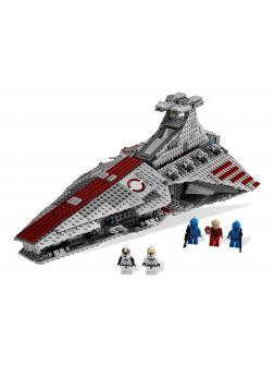 Конструктор LION KING «Атакующий крейсер республиканцев класса Венатор» 180020 (Star Wars 8039) 6118 деталей
