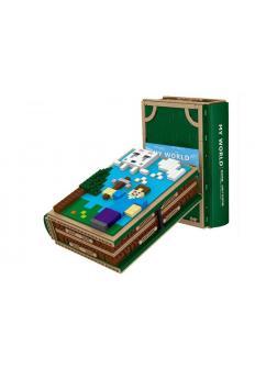 Конструктор PRCK Коллекционная книга «Шкатулка с персонажами» 63048 (Minecraft) 1436 деталей