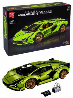 Конструктор Mould King «Lamborghini Sian FKP 37» 13057D на Р/У (Technic 42115) 3868 деталей
