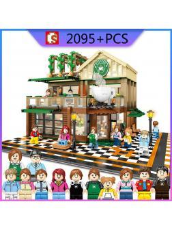 Конструктор Sembo Block «Кофейня» 601093 / 2095 деталей