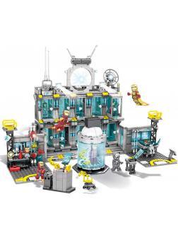 Конструктор SY «Большая лаборатория Железного Человека» SY1187 (Super Heroes) / 1325 деталей