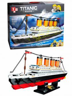 Конструктор Zhe Gao «Титаник» QL0958 / 1202 детали