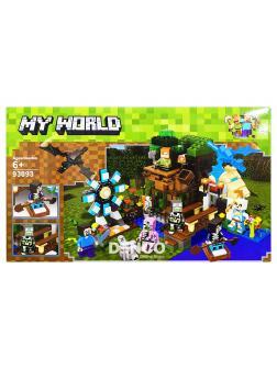 Конструктор Lezi «Большая компания Стива» 93093 (Minecraft)