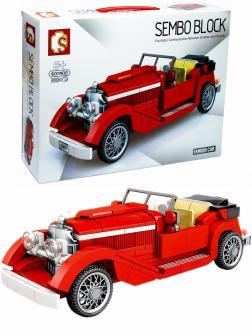 Конструктор Sembo Block «Mercedes-Benz 500K Tourer» 607402 / 318 деталей