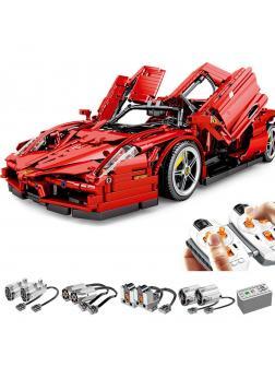 Конструктор Sembo Block «Суперкар Ferrari Enzo» на радиоуправлении 701020 / 2615 деталей