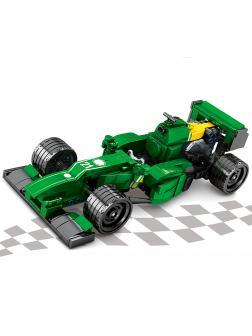 Конструктор Sembo Block «Гоночный болид Формулы 1: команда Renault» 701354 / 337 деталей