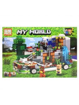 Конструктор PRCK «Дом на колесах» 63054 (Minecraft) 545 деталей