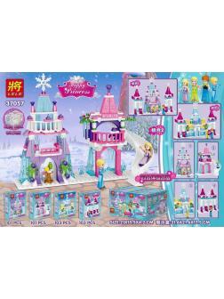 Конструктор Ll «Мини Замки для героев» 37057 (Disney Princess) комплект 4 шт.