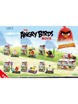 Конструктор SL8931А (Angry Birds) комплект 6 шт.