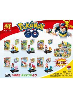 Конструктор Ll «Pokemon» 39001 комплект 6 шт.
