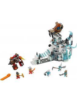 Конструктор Bl «Ледяная крепость Сэра Фангара» 10296 (Legends of Chima 70147) 668 деталей