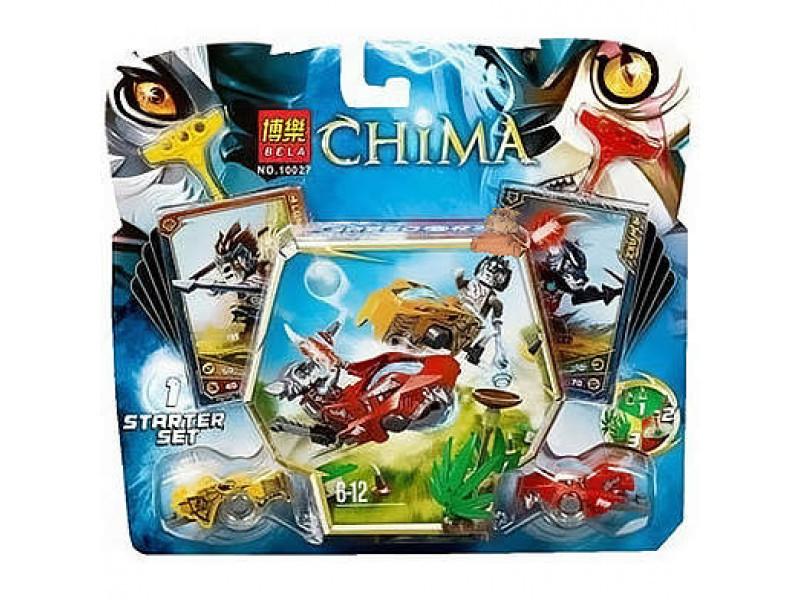 Конструктор Bl «Сражение Лавала и Воррица» 10027 (Legends of Chima) 93 детали