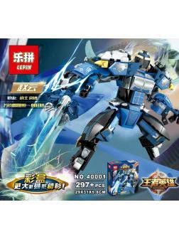 Конструктор Lp «Синий робот ниндзя» 40001 (НиндзяГо) 297 деталей
