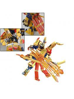 Конструктор Lp «Огненный робот Ниндзя» 40002 (НиндзяГо) 288 деталей