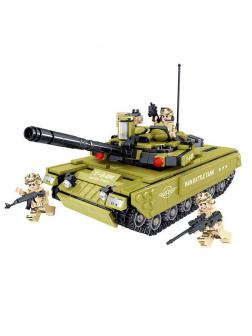 Конструктор ZHE GAO «Бронированный танк Т84-М» QL0135 775 деталей