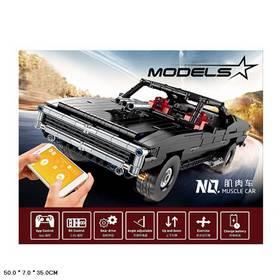 Конструктор Mould King «Muscle Car Доминика Торетто» на радиоуправлении 13081 (MOC 17750) / 1098 деталей