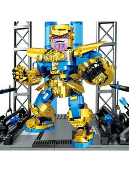 Конструктор PRCK «Мстители: Титан Танос» 64073 (Super Heroes) 825 деталей