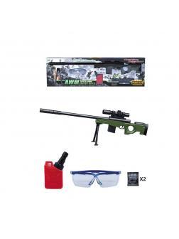 Снайперская винтовка АМВ с водными пульками В302