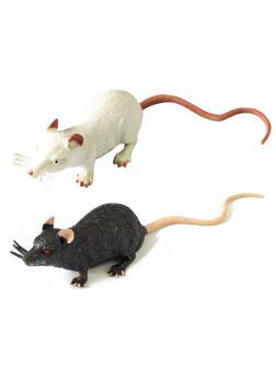 Животные-тянучки Антистресс «Мышки» из термопластичной резины 17 см., 2 шт. НА027Р