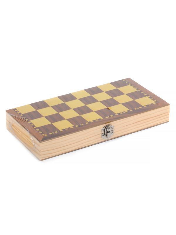 Шахматы деревянные с магнитом 29х14х4 см. 00160 / Xinliye