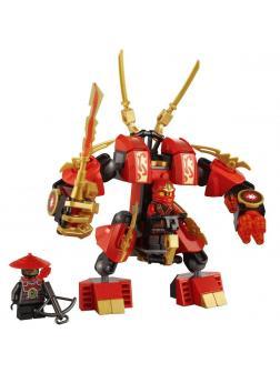 Конструктор Bl «Огненный робот Кая» 9790 (НиндзяГо 70500) / 105 деталей