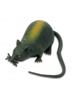 Резиновая фигурка-мялка  «Черная крыса», 30 см. A101DB