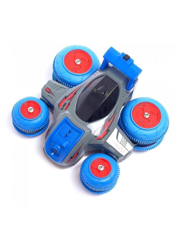 Трюковая машинка-перевертыш HB Toys «Turbine Storm» радиоуправляемая CL24A04-05 / Микс