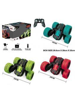Трюковая машина-перевёртыш HB Toys «Atom Max» радиоуправляемая, со световыми эффектами HB1601-02-03 / Микс