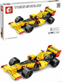 Конструктор Sembo Block «Гоночный болид Formula 1: Renault» 701352, инерционный / 293 детали