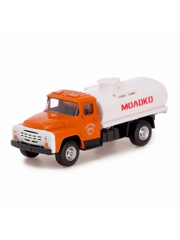 Металлическая машинка Play Smart 1:52 «Зил-130 Молоковоз» 12 см. 6520-D Автопарк