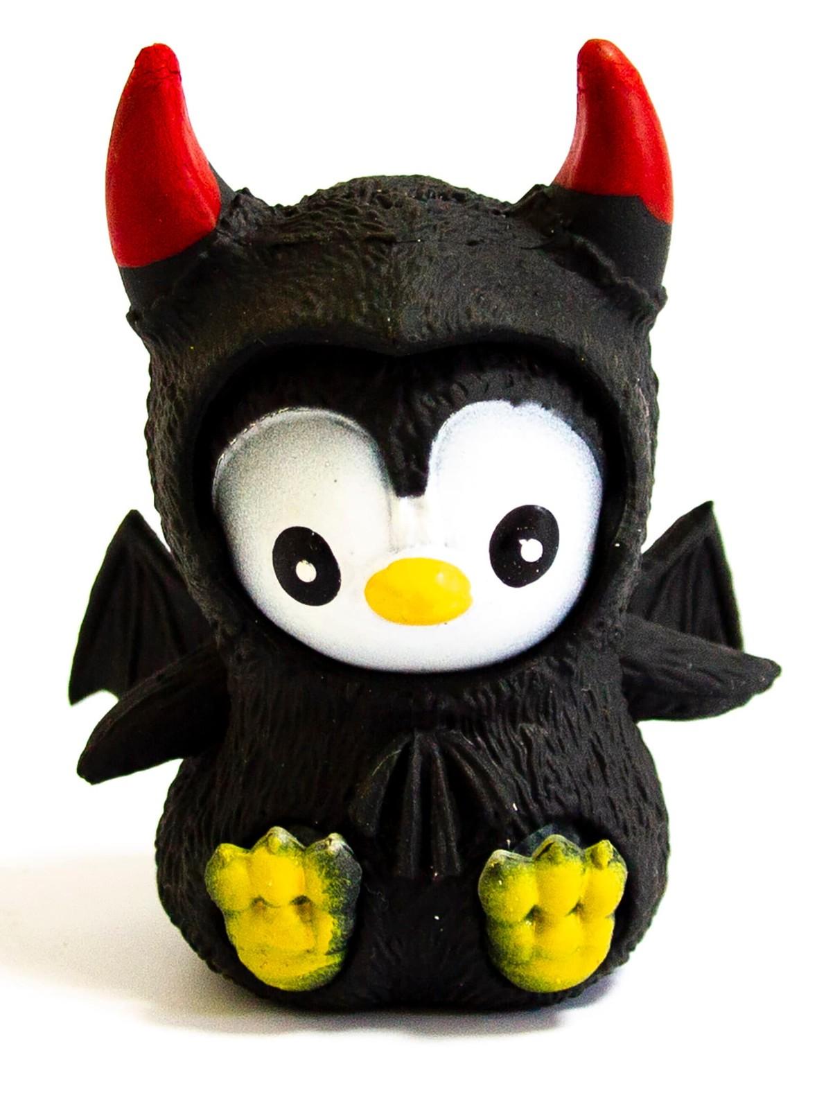 Резиновые фигурки-тянучки «Пингвины в костюмах Хэллоуин» 4 шт. / Panawealth