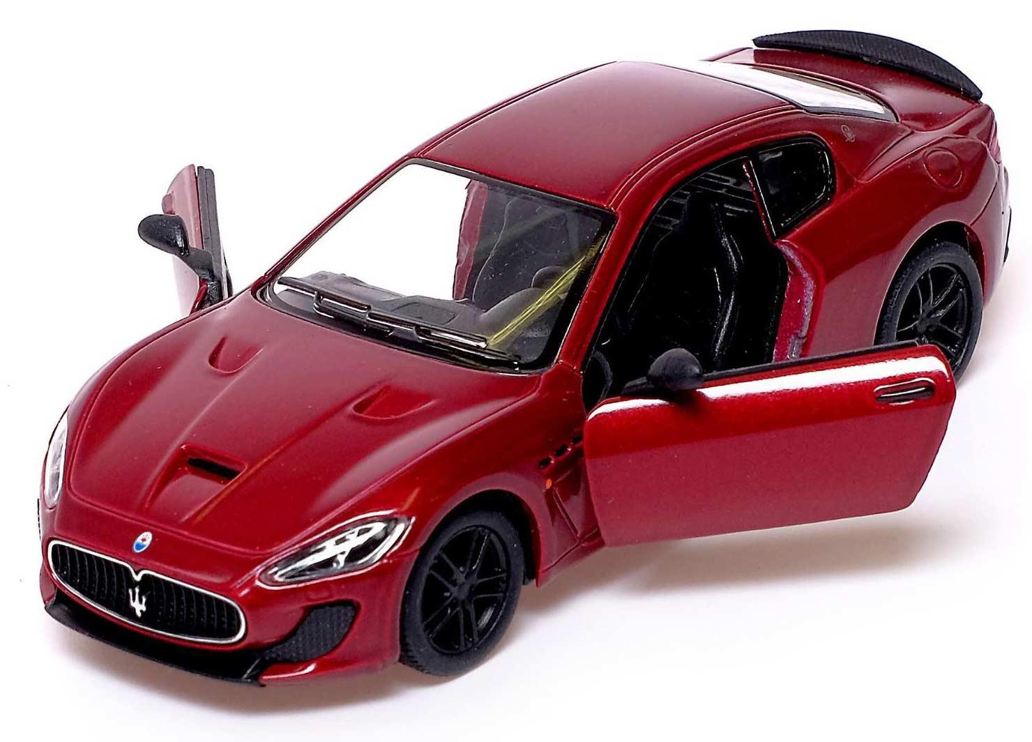 Машинка металлическая Kinsmart 1:38 «2016 Maserati GranTurismo MC Stradale» KT5395D инерционная / Микс