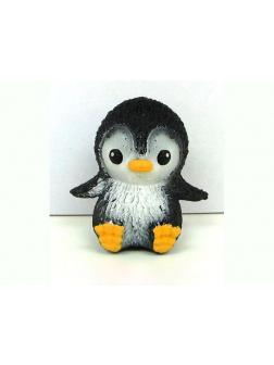 Фигурки-тянучки животных «Пингвинята» из термопластичной резины, 5 см., в пакете A293-DB / 2 шт.