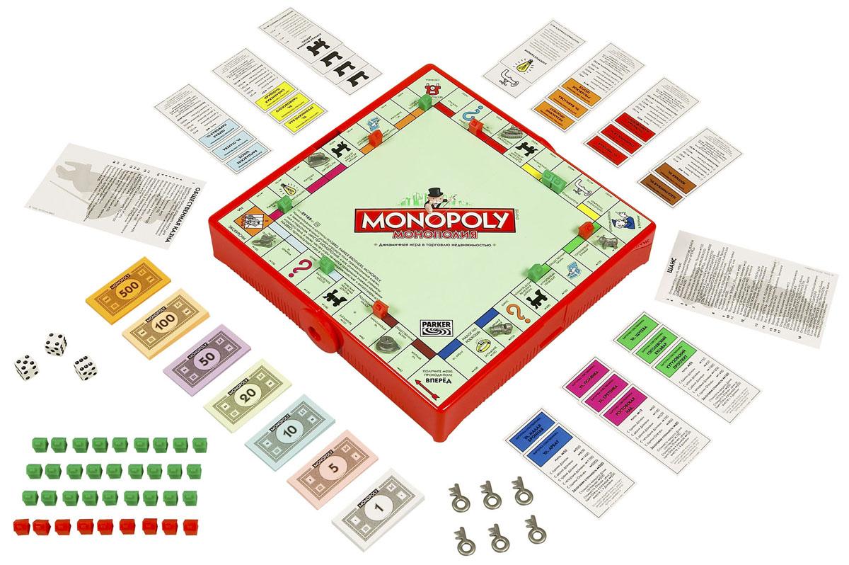 Настольная игра Монополия (Дорожная версия) 6135