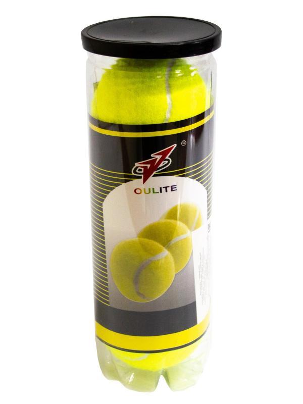 Мячи для большого тенниса 3 шт. в тубе, Т306Ф