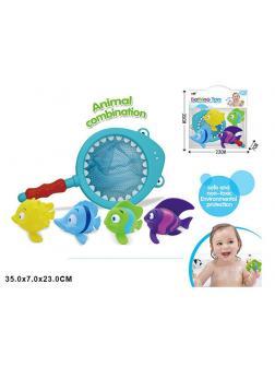 Игрушка для ванной рыбки с сачком «Морские обитатели» SDH0073