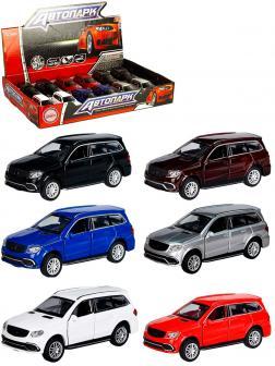 Металлическая машинка Play Smart 1:50 «Mercedes-Benz GL 63 AMG» 6532D Автопарк, инерционная / Микс