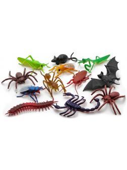 Набор фигурок «Animal World» насекомых и животных Н9601, 5-9 см. / 12 шт.