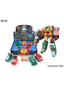 Трансформер Робот 5шт (1шт)