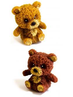 Фигурки-тянучки животных «Медвежата» A192-DB из термопластичной резины, 5 см., 2 шт. в пакете
