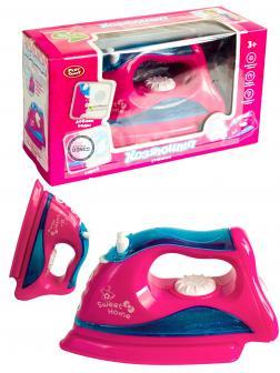 Детский игровой утюжок Play Smart «Хозяюшка» с паром, звуком и светом / D2157
