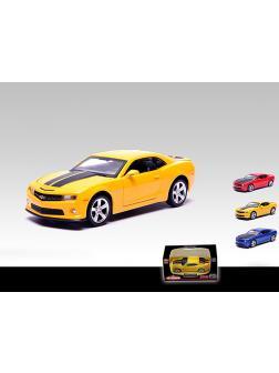 Машинка металлическая Автодром «Chevrolet Camaro» 1:43 / Микс